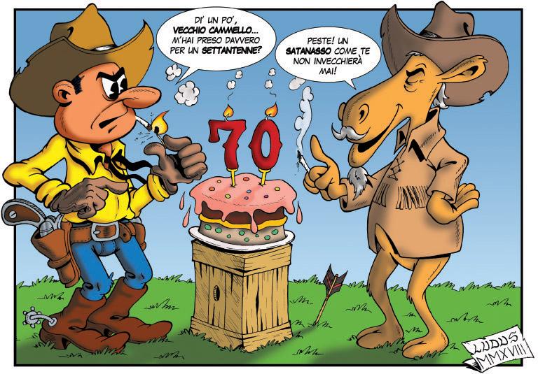 Tex compie 70 anni