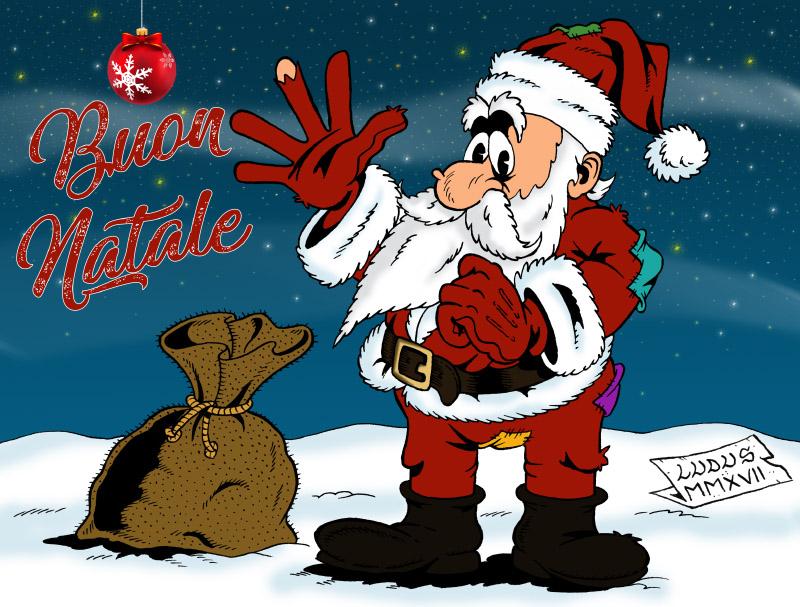 Cartoon on Merry Christmas