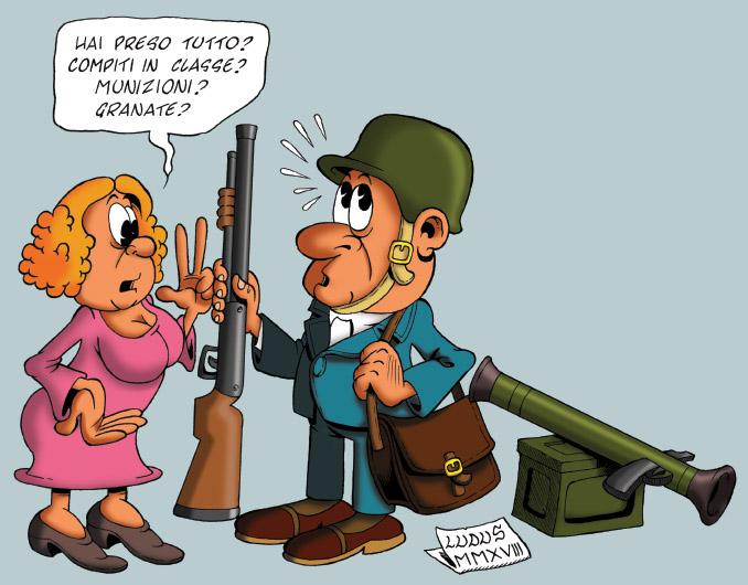 Armare i professori