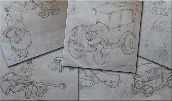 Bozzetti illustrazione