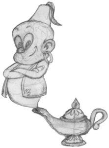 Mascotte sketch