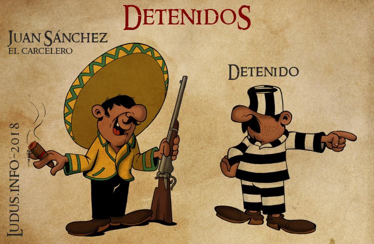Detenidos characters