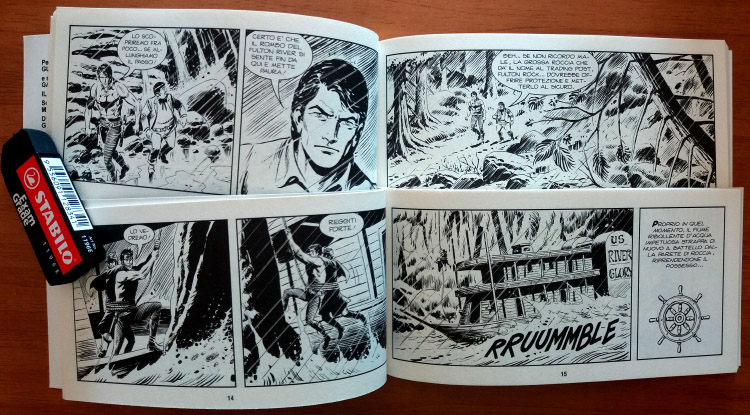 Le nuove strisce di Zagor: le pagine interne