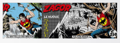 The new Zagor comic strips… the old-fashioned way!