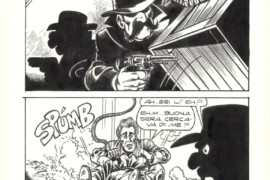 La mia passione per il fumetto in bianco e nero
