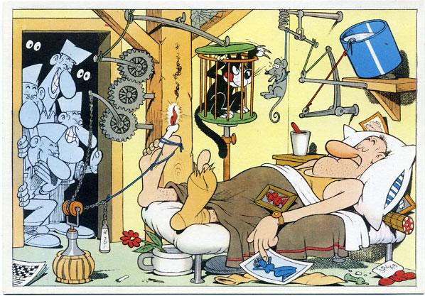 Vignetta divertente di Jacovitti